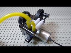 LEGO Motor DIY Part 4: Pneumatic Motorized Compressor - YouTube