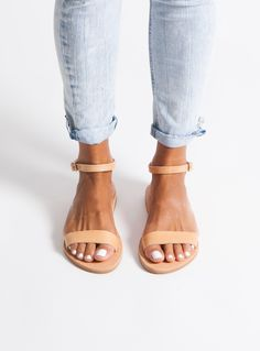 Greek Leather Sandals/women's sandals/ classic sandals/ ankle strap sandals/ flat sandals/ handmade/ grecian sandals/ elegant sandals ELIA Flat Sandals Outfit, Ankle Strap Sandals, Leather Sandals, Women's Sandals, Style Ancien, Beautiful Sandals, Greek Sandals, Black Leather Bags