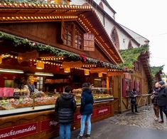 Half-timbered homes, pine tree lined streets, twinkle lights galore, Gluhwein, carols throughout the street… it's Christmas in Basel Switzerland!