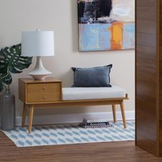 New Modern Entry Way Bench