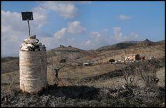 Out in the campo near the Rambla De Oria, Oria, Almeria.