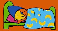 Pompom slaapt
