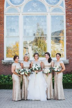 The Bass Player for Walk the Moon, famous for the song Shut Up and Dance, married his love and the result is a classic Philadelphia affair that will for sure having you humming along. Metallic Bridesmaid Dresses, Bridesmaid Dress Styles, Wedding Dresses, Bridesmaids, Plan My Wedding, Wedding 2017, Wedding Ideas, Museum Wedding