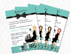 Tiffany & Co. Inspired Mom-to-be Baby Shower by SnowberryMountain