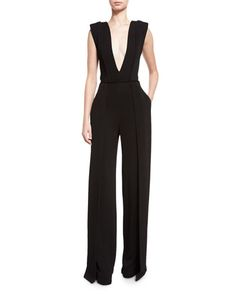 Clearance Purchase Heavy Georgette Cigarette Pant Brandon Maxwell Free Shipping With Mastercard IDMbb