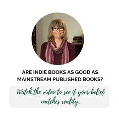 IT'S LITERARY MYTH BUSTING TIME. Myth #1 about literature: Indie books aren't as good as mainstream books. The truth? Click the link to watch the video - it has subtitles. #reading #booklove #indiereadersarethebest #indiereaders #indiebooks #indiepublishing