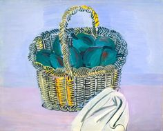 """Raoul Dufy titled this 1926 picture """"The Basket."""" If you could rename this painting, what would you call it?  Natl Gallery of Art (@ngadc) 