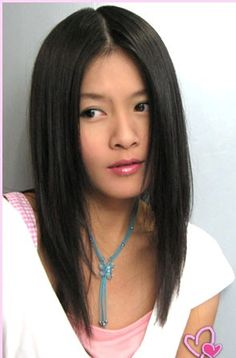 ... Hairstyles With Hair Straightening Style For Young   LONG HAIRSTYLES