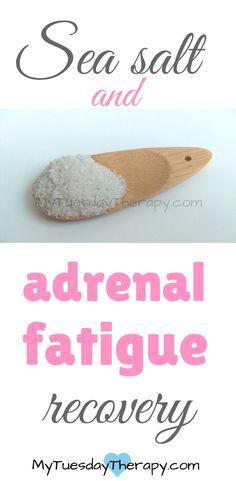 This was an awesome help in my adrenal fatigue recovery. | Adrenal Fatigue Diet.  |How to avoid afternoon crash. | Adrenal Fatigue Recovery. | Adrenal Fatigue and Salt. | Adrenal Fatigue Cravings. via @www.pinterest.com/mytuestherapy