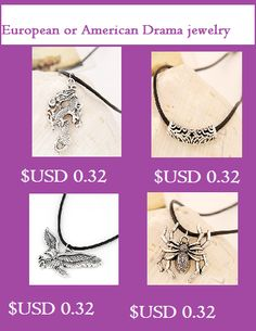 Buy European and American Drama jewelry online from 8090Jewelry at the discounted prices. #dramajewelry #jewelry #fashion