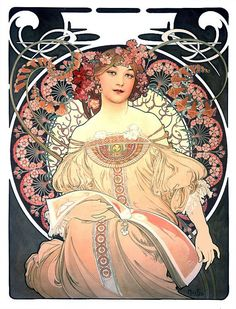 The official site of the Mucha Foundation. A comprehensive resource for information on Alphonse Mucha (or Alfons Mucha) with details on his life, the Mucha Trust Collection, news, exhibitions, events and publications. Illustration Art Nouveau, Art Nouveau Poster, Poster Art, Kunst Poster, Print Poster, Retro Illustration, Art Deco, Vintage Posters, Vintage Art