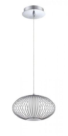 One Light Chrome Down Pendant : SKU 255FH | Richardson Lighting $119.90