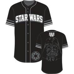 Star Wars Base Vader Baseball Jersey Style T-Shirt 91d79f04a