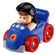 DC Super Friends Wonder Woman Wheelies - For the littlest superhero fans!
