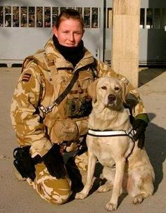 Cpl. Manda Iberson and MWD Cindy in 2007 in Afghanistan . Cindy is Manda's whole world and will be 13 year's old on April 1, 2013.Thank you for serving.  Heroes . Photo: K9 Heroes