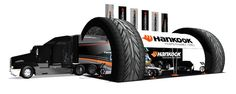 Hankook Tire USA: Mobile Marketing Trailer - Hankook Tire, a major sponsor of Formula Drift required a dynamic presentation of their tires products.