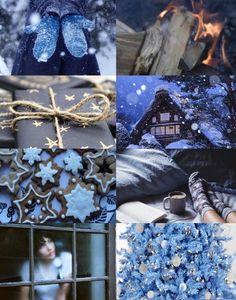 Ravenclaw winter aesthetic Hogwarts houses