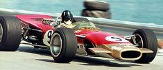 1968 graham hill lotus 49 monaco . .