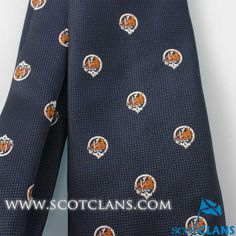 MacKinnon Clan Crest Tie
