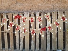 MERRY CHRISTMAS BANNER Banners for all Occasions!! Avail. on Etsy