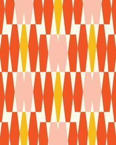 Abacus - Orange By Heather Dutton