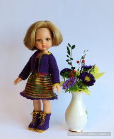 Осенние фантазии. Игровые куклы Paola Reina. Одежда своими руками. / Paola Reina, Antonio Juan и другие испанские куклы / Бэйбики. Куклы фото. Одежда для кукол