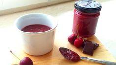 Csokis cseresznyelekvár cukor és tartósítószer nélkül
