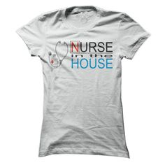 NURSE IN THE HOUSE T-Shirts, Hoodies. Get It Now ==► https://www.sunfrog.com/Funny/NURSE-IN-THE-HOUSE-T-Shirt-Ladies.html?41382
