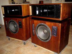Altec Model 19 Studio Monitors