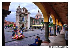 México. Tequisquiapan. Plaza e Iglesia de la Asunción.   Flickr – Condivisione di foto!