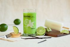 Vanilla Lime Candle by Diamond Candles