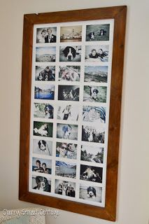 Cherry Street Cottage: DIY Oversized Framed Photos