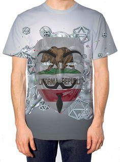 Faces on the Floor California Men's T-Shirt