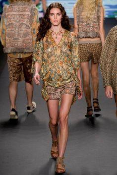 ANNA-SUI SPRING 2014 dress