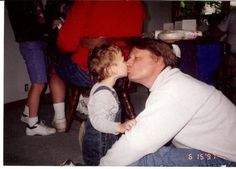 Spencer and me when Spencer was 2 years old