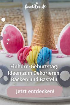Für den Einhorn-Geburtstag fehlen dir noch die passenden Ideen? Deko, Kuchen, Spiel- und Bastelideen rund ums Motto Einhorn findest du in unserem Kindergeburtstags-Guide für die perfekte Einhorn-Party @ home. Alles Einhorn, oder was? #einhorn #geburtstag #party #feiern #deko #kuchen #backen #basteln #bastelideen #feiern #geburtstagsparty #kindergeburtstag #familie #familienleben Motto, Breakfast, Cake Baking, Pies, Unicorn Crafts, Unicorn Birthday, First Birthday Girls, Unicorn Party, Morning Coffee