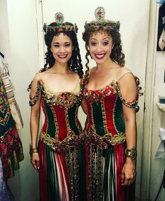 Ali Ewoldt as Christine and Carly Blake Sebouhian as u/s Meg - via Instagram 15 July 2016