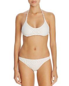 Polo Ralph Lauren Crochet Halter Bikini Top & Crochet Hipster Bikini Bottom | Bloomingdale's