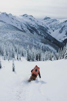 Back country. #thepursuitofprogression #Lufelive #Ski #Skiing #LA #NY: