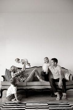 Indoor family shoot