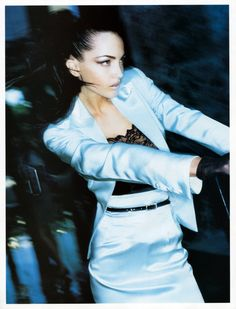 Harper's Bazaar US March 1997 Model: Chandra North Photographer: Wayne Maser
