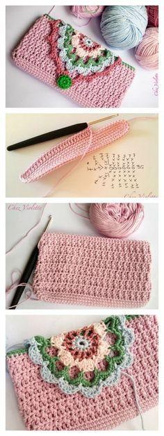 Fancy Phone Case Free Crochet Pattern by leola