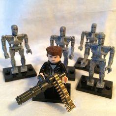 Terminator custom #LEGO minifigure w/ #notLEGO...   ScifiSlacker.com