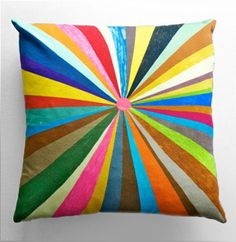 "Great graphic cotton pillow by Swedish Designer ""Fine Little Day"""