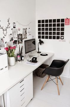 [Get the look] Cómo decorar tu oficina para trabajar mejor | Decorar tu casa es facilisimo.com