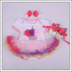 Like and Share if you want this  Baby Rompers 3PCs Infant Clothing Set Baby Girls Birthday Cupcake Tutu Dress Jumpersuit Headband Shoes     Tag a friend who would love this!     FREE Shipping Worldwide     Get it here ---> http://onlineshopping.fashiongarments.biz/products/baby-rompers-3pcs-infant-clothing-set-baby-girls-birthday-cupcake-tutu-dress-jumpersuit-headband-shoes/