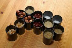 En Terre d'Enfance: Fabrication des boîtes à sons Formation Montessori, Nespresso, Diy, Childhood, Earth, Preschool, Bricolage, Do It Yourself, Fai Da Te