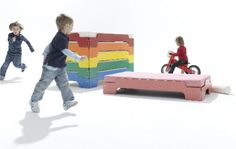 Stackable Beds for Kids and Grown Ups from Müller Möbelwerkstätten