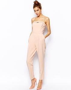Image 1 of River Island Bandeau Jumpsuit