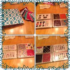 Thirty-One, swatch book INSTEAD in addition to having ALL the rings of swatches!!